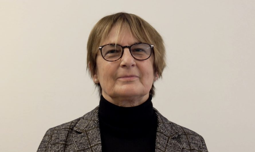 Die Gemeinderätin der Stadt Freiburg Andrea Burgener Woeffray freut sich über die Entstehung von frimoup