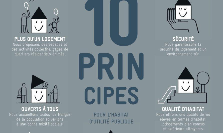 """Campagne d'info """"Les dix principes directeurs de l'habitat d'utilité publique"""""""
