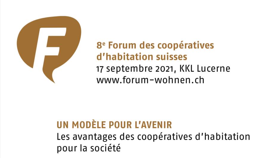 8e Forum des coopératives d'habitation suisses