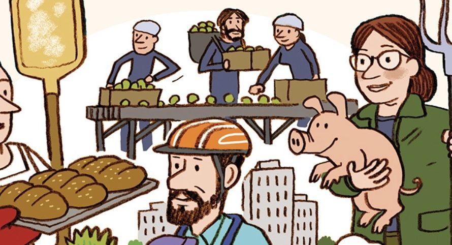 Construire ensemble des circuits alimentaires courts avec les Artisans de la transition